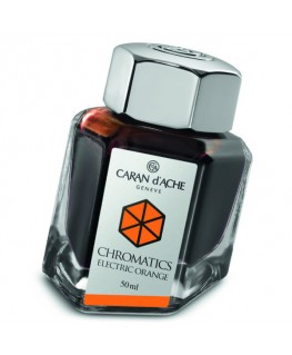 Flacon d'encre Caran d'Ache Electric Orange Réf_8011.052
