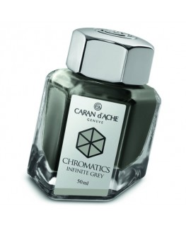 Flacon d'encre Caran d'Ache Chromatics Infinite Grey Réf_8011.005