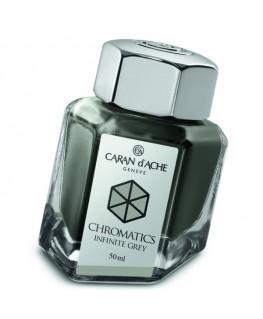 Flacon d'encre Caran d'Ache Chromatics Infinite Grey Réf_8011.005