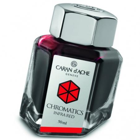 Flacon d'encre Caran d'Ache Chomatics Infra Red Réf_8011.070