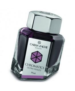 Flacon d'encre Caran d'Ache Chromatics Ultra Violet Réf_8011.099