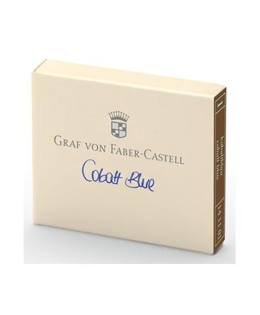 Cartouche D'encre Graf von Faber Castell Cobalt Blue 141101