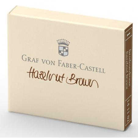 Cartouche D'encre Graf von Faber Castell Hazelnut Brown 141102