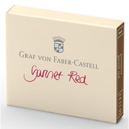 Cartouche D'encre Graf von Faber Castell Garnet Red 141105