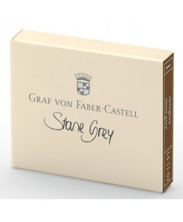 Cartouche D'encre Graf von Faber Castell Stone Grey 141103