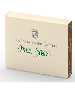 Cartouche D'encre Graf von Faber Castell Moss Green 141104