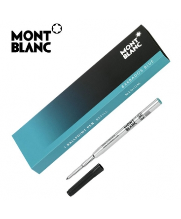 Recharge Bille Montblanc Barbabos Blue Turquoise 110624