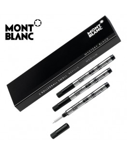 Recharge Montblanc Roller Slim Mozart Noir Moyen 107323
