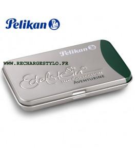 Boite de 6 cartouches d'encre Pelikan Edelstein Vert Aventurine