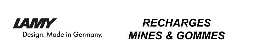 Recharge gomme et mine pour porte_mine Lamy