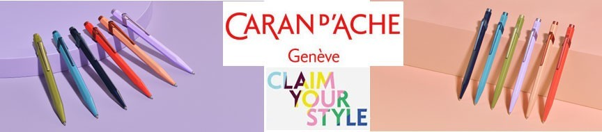 Stylos Bille Caran D'ache 849 Claim Your Style