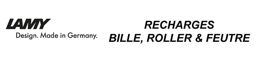 Recharge Bille/Roller/Feutre