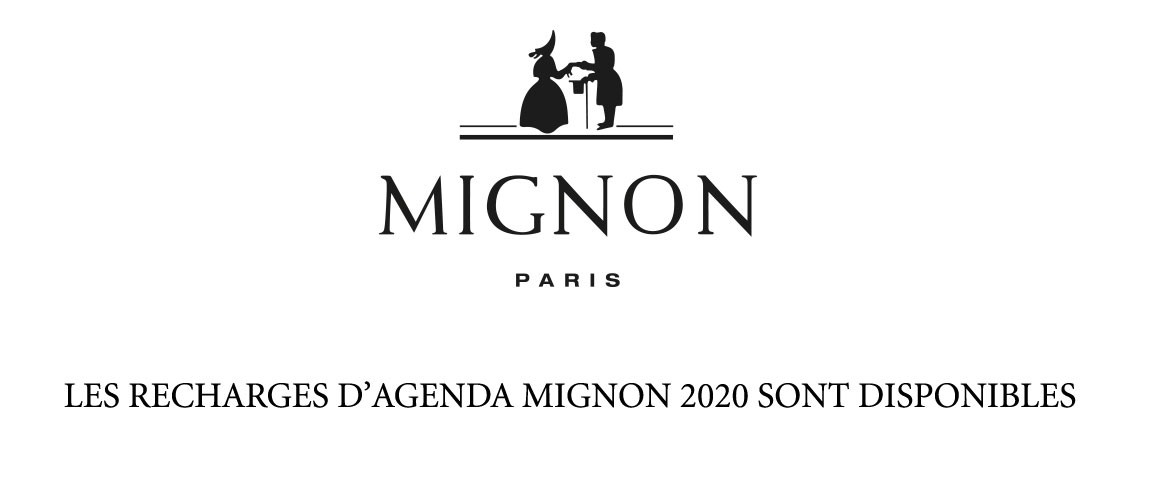 Recharges agenda Mignon