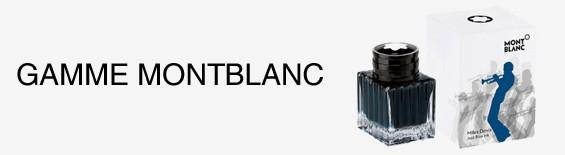 Gamme de produits Mont Blanc